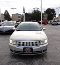 lincoln mkz 2007 silver navi sedan awd gasoline 6 cylinders all whee drive automatic with overdrive 60546