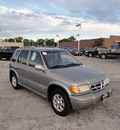kia sportage 2001 gray suv limited 4x4 gasoline 4 cylinders dohc 4 wheel drive automatic with overdrive 60546