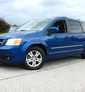 dodge grand caravan 2010 blue van sxt gasoline 6 cylinders front wheel drive automatic 45840