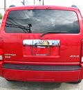 dodge nitro 2007 red 4x4 slt gasoline 6 cylinders 4 wheel drive automatic 45840