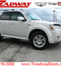 mercury mariner 2009 white suv premier v6 gasoline 6 cylinders 2 wheel drive automatic 45840