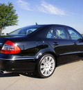 mercedes benz e class 2008 black sedan e350 gasoline 6 cylinders rear wheel drive automatic 76018