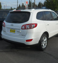 hyundai santa fe 2012 glacier white suv limited gasoline 6 cylinders all whee drive shiftable automatic 99208
