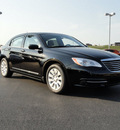 chrysler 200 2012 black sedan lx gasoline 4 cylinders front wheel drive automatic 60915