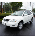 lexus rx 350 2009 white suv premium plus package gasoline 6 cylinders all whee drive 07755