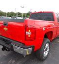 chevrolet silverado 2500 2012 red lt gasoline 8 cylinders 4 wheel drive automatic 60007