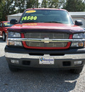 chevrolet silverado 1500 2005 red z71 gasoline 8 cylinders 4 wheel drive 4 speed automatic 27569