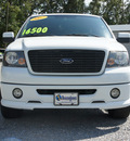 ford f 150 2007 white pickup truck fx2 flex fuel 8 cylinders rear wheel drive 4 speed automatic 27569