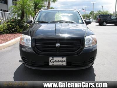 dodge caliber 2007 blk hatchback caliber gasoline 4 cylinders front wheel drive not specified 33912