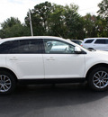 ford edge 2008 off white suv sel gasoline 6 cylinders front wheel drive automatic with overdrive 07730