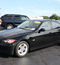bmw 3 series 2008 black sedan 328xi gasoline 6 cylinders all whee drive automatic 07730