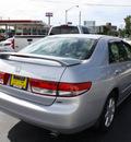 honda accord 2003 satin silver sedan ex v 6 gasoline 6 cylinders sohc front wheel drive automatic 07730