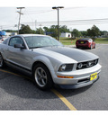 ford mustang 2006 satin silver coupe v6 premium gasoline 6 cylinders rear wheel drive automatic with overdrive 07724
