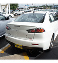 mitsubishi lancer evolution 2011 white sedan mr gasoline 4 cylinders all whee drive automatic 07724