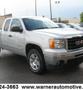 gmc sierra 1500 2010 silver sle flex fuel 8 cylinders 4 wheel drive automatic 45840