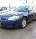chevrolet impala 2006 dk  blue sedan lt flex fuel 6 cylinders front wheel drive automatic 45840
