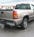 chevrolet silverado 1500 2001 lt  gray pickup truck gasoline 6 cylinders rear wheel drive automatic 45840