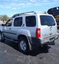 nissan xterra 2002 silver suv se s c gasoline 6 cylinders 4 wheel drive automatic 28557