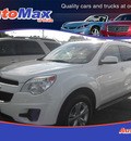 chevrolet equinox 2011 white lt gasoline 4 cylinders front wheel drive automatic 34474