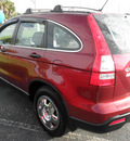 honda cr v 2008 red suv lx gasoline 4 cylinders front wheel drive automatic 34474