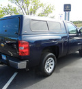 chevrolet silverado 1500 2009 dk  blue work truck gasoline 6 cylinders 2 wheel drive 4 speed automatic 55391