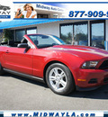 ford mustang 2011 red v6 gasoline 6 cylinders rear wheel drive automatic 90004