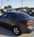 mitsubishi lancer 2008 gray sedan es gasoline 4 cylinders front wheel drive not specified 76210