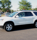 gmc acadia 2008 white suv slt awd gasoline 6 cylinders all whee drive automatic 55124
