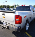 chevrolet silverado 1500 2011 silver lt flex fuel 8 cylinders 4 wheel drive automatic 60007