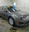 ford fusion 2010 dk  gray sedan se flex fuel 6 cylinders front wheel drive automatic 14304