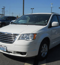 chrysler town country 2010 white van touring gasoline 6 cylinders front wheel drive automatic 99212