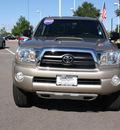 toyota tacoma 2007 beige pickup truck v6 gasoline 6 cylinders 4 wheel drive automatic 80126