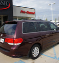 honda odyssey 2009 red van ex l gasoline 6 cylinders front wheel drive automatic 76210