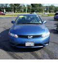 honda civic 2008 atomic blue coupe lx gasoline 4 cylinders front wheel drive 5 speed automatic 07724