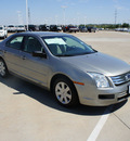 ford fusion 2008 lt  gray sedan i4 gasoline 4 cylinders front wheel drive automatic 76108