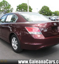 honda accord 2008 red sedan lx p gasoline 4 cylinders front wheel drive 5 speed automatic 33912
