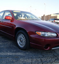 pontiac grand prix 2000 red sedan gt gasoline v6 front wheel drive automatic 60115