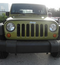 jeep wrangler 2007 green suv x gasoline 6 cylinders 4 wheel drive automatic 34731
