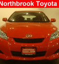 toyota matrix 2010 red hatchback gasoline 4 cylinders front wheel drive automatic 60062