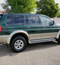 mitsubishi montero sport 1999 green suv ltd 4wd gasoline 6 cylinders 4 wheel drive automatic with overdrive 56001