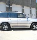 toyota land cruiser 2001 gray suv gasoline 8 cylinders dohc 4 wheel drive automatic 80301