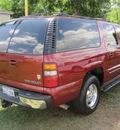 chevrolet suburban 1500 2002 red suv lt flex fuel 8 cylinders rear wheel drive automatic 77379