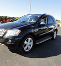 mercedes benz m class 2009 black suv ml350 4matic gasoline 6 cylinders all whee drive 7 speed 60915