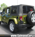 jeep wrangler unlimited 2007 grn suv sahara gasoline 6 cylinders rear wheel drive not specified 33912
