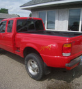ford ranger 1999 red pickup truck xlt sprcb 4wd gasoline v6 4 wheel drive automatic 55016