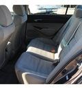 honda civic 2009 gray sedan lx gasoline 4 cylinders front wheel drive automatic 77065