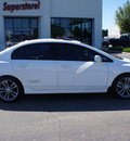 honda civic 2007 white sedan si w navi gasoline 4 cylinders front wheel drive 6 speed manual 46168
