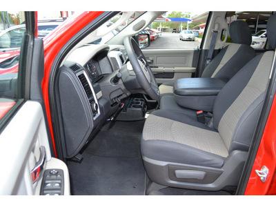 dodge ram pickup 1500 2010 red pickup truck slt flex fuel 8 cylinders 2 wheel drive automatic 76903