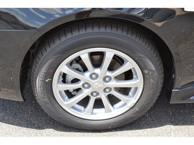 mitsubishi lancer 2011 black sedan es gasoline 4 cylinders front wheel drive automatic 76903