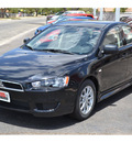 mitsubishi lancer 2011 black sedan es gasoline 4 cylinders front wheel drive automatic 76903